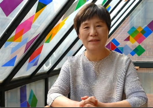 씨네아트 리좀 하효선 대표.